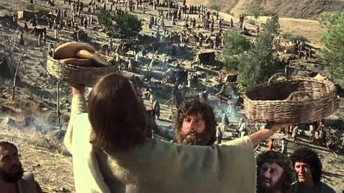 Jesus feeding 5,000