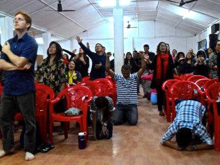 Holy Spirit bringing healing