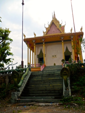 Buddhist temple in Phnom Penh
