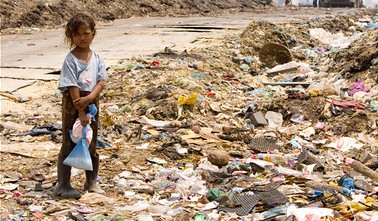 Poverty in Cambodia.