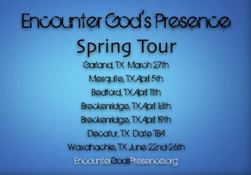 Encounter Spring Tour