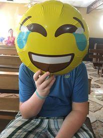 balloon face