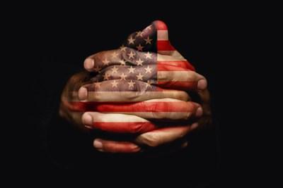 America pray hands